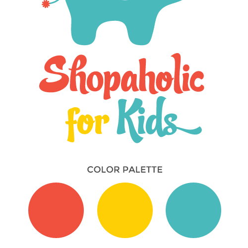 Logo Design For Shopaholic For Kids