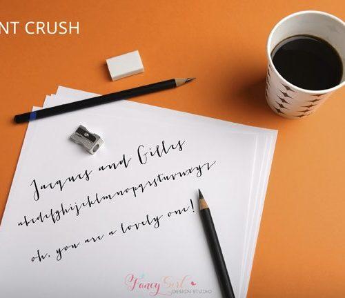 Font Crush: Jacques & Gilles