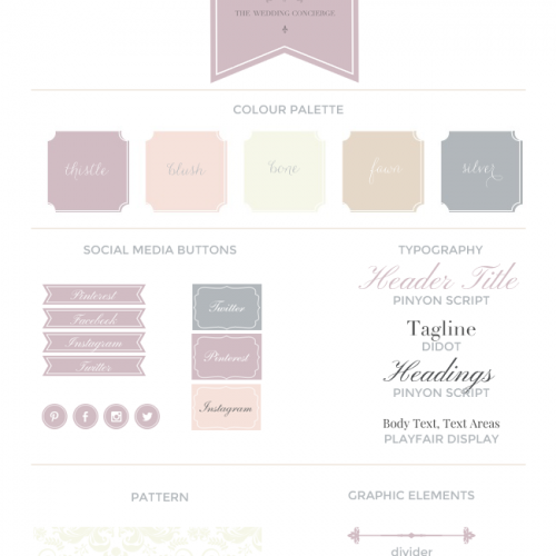 Website Design For The Wedding Concierge