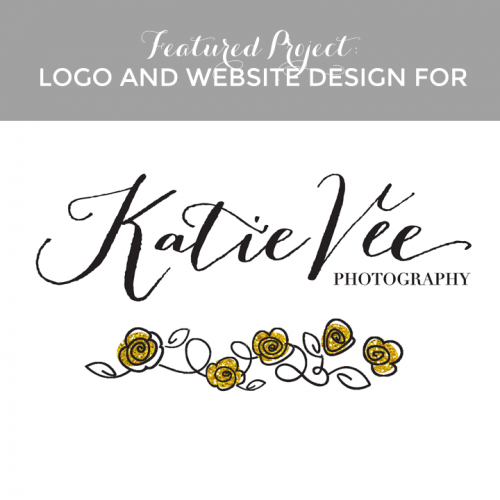 Featured Project: Logo And Website Design For Katie Vee Photography