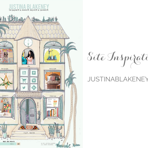 Site Inspiration: Justina Blakeney