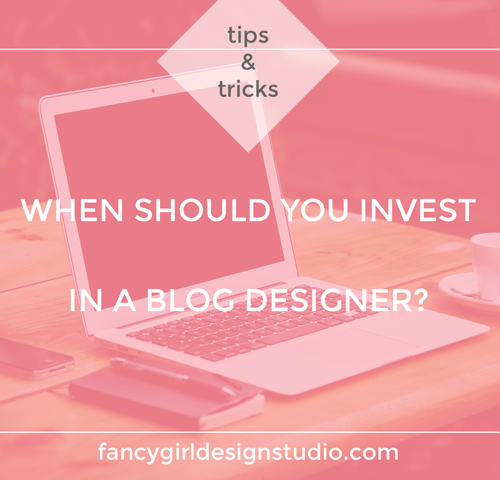 When Should You Invest In A Blog Designer?