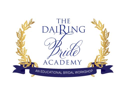 Logo Design For Dairing Bride Academy