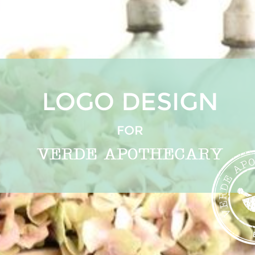 Featured Project: Logo Design for Verde Apothecary