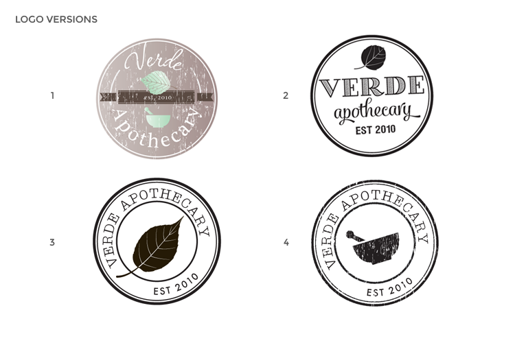 VERDEAPOTHECARY-LOGO VERSIONS