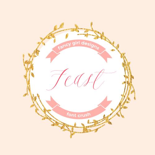 Font Crush: Feast