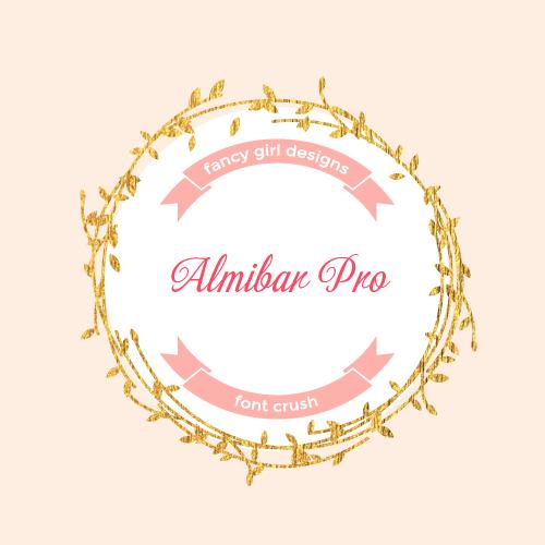 Font Crush: Almibar Pro