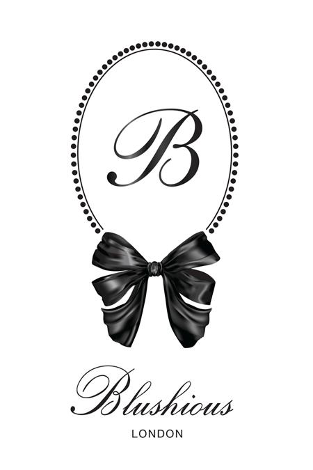 Blushious Logo White