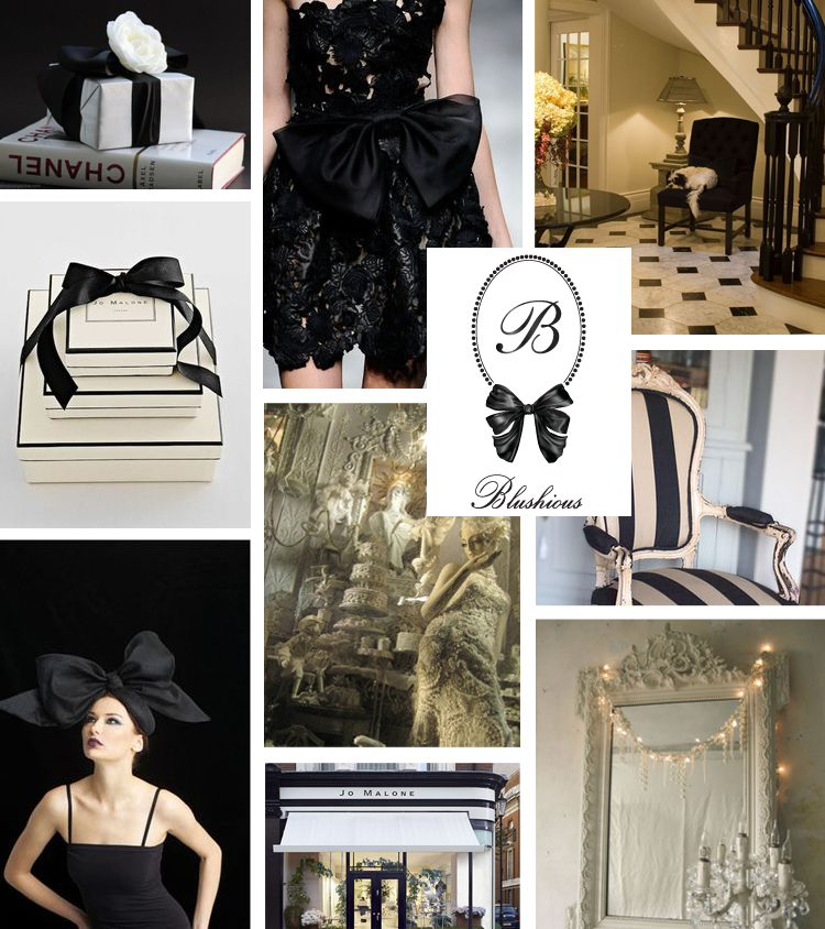 Blushious London Mood Board by Fancy Girl Design Studio
