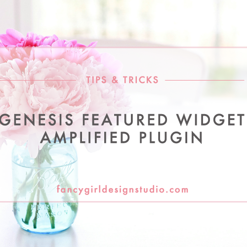 Genesis Featured Widget Amplified Plugin