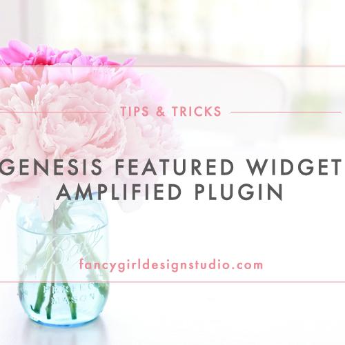 Genesis Featured Widget Amplified Plugin