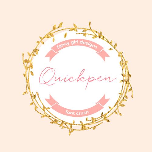 Font Crush: Quickpen