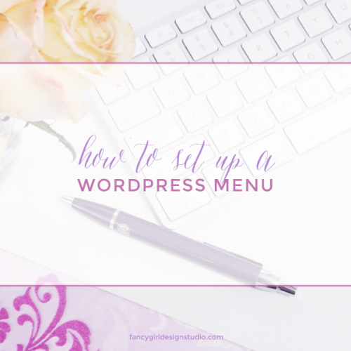 How to set up a WordPress Menu