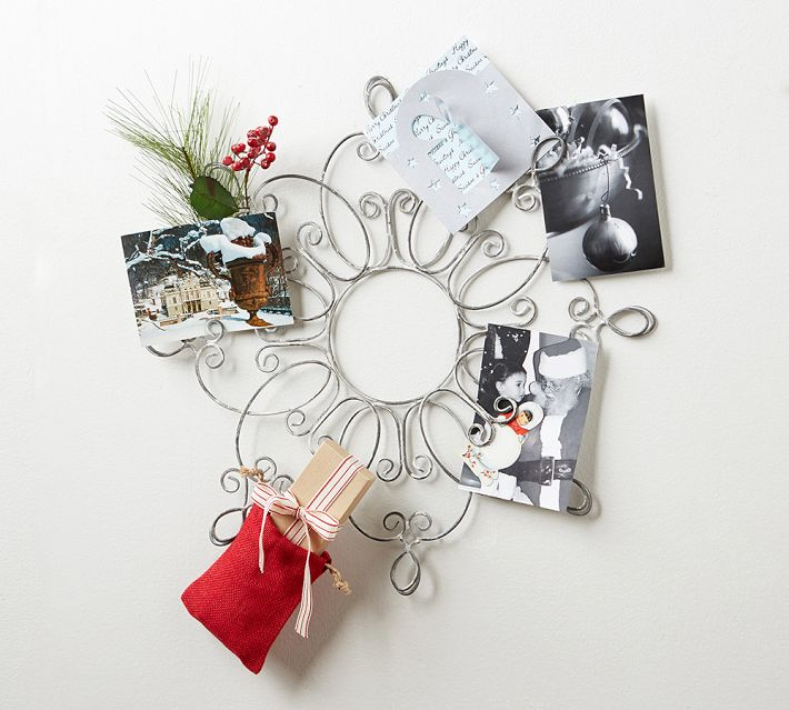 snowflake card holder