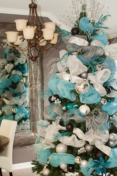 turquoise and silver tree