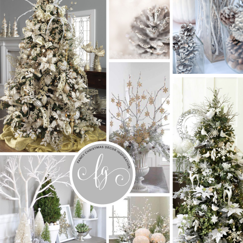 Planning Our Christmas Decor, The Fancy Girl Way