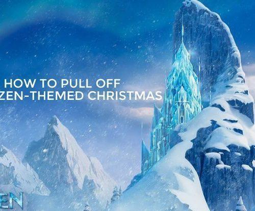 How to Pull Off a Frozen-Themed Christmas