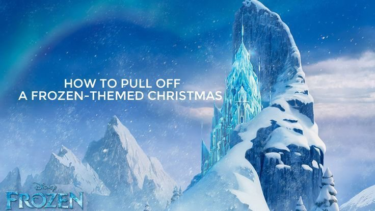 off a disney frozen themed christmas that will make you and your. Black Bedroom Furniture Sets. Home Design Ideas