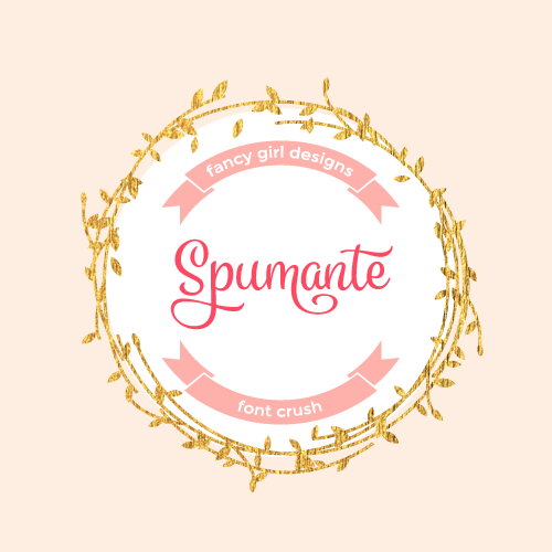 Font Crush: Spumante