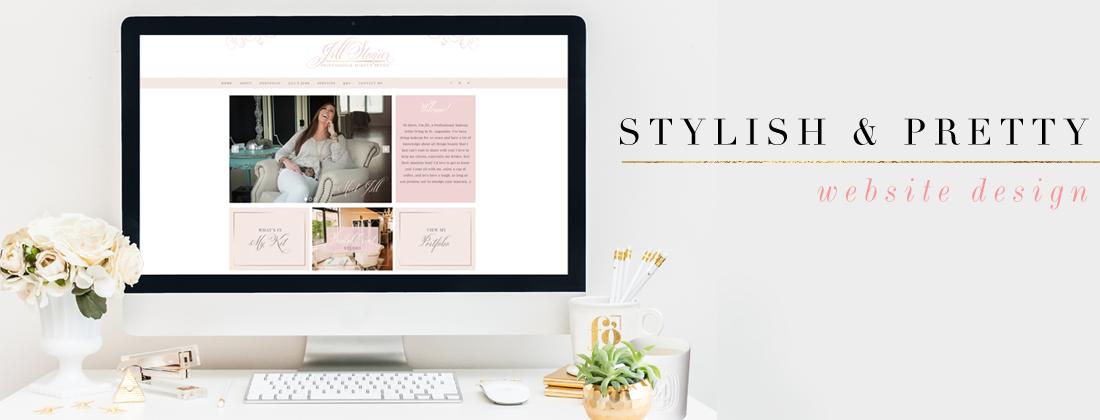 Stylish & Pretty Web Design