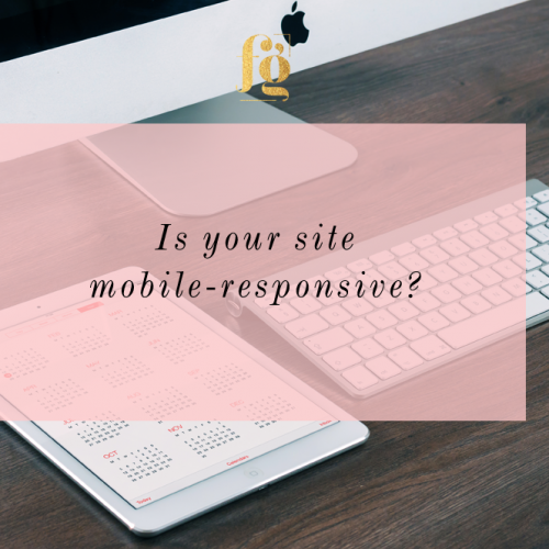 Is your site mobile responsive?