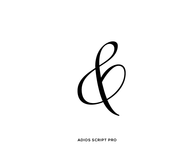 Ampersand-Adios