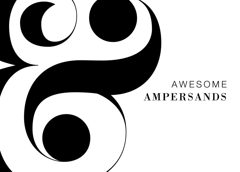 Awesome Ampersands