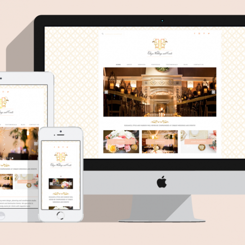 Featured Project: Chique Weddings and Events