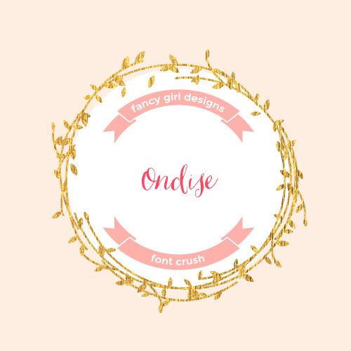 Font Crush: Ondise
