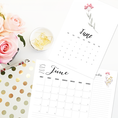 The June Calendar is coming!