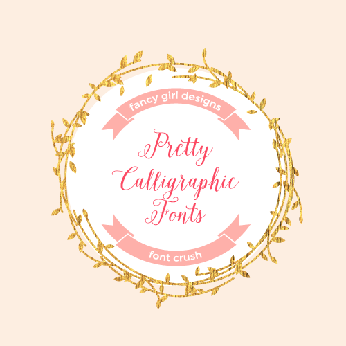 Font Crush: Pretty Calligraphy Fonts Part 2