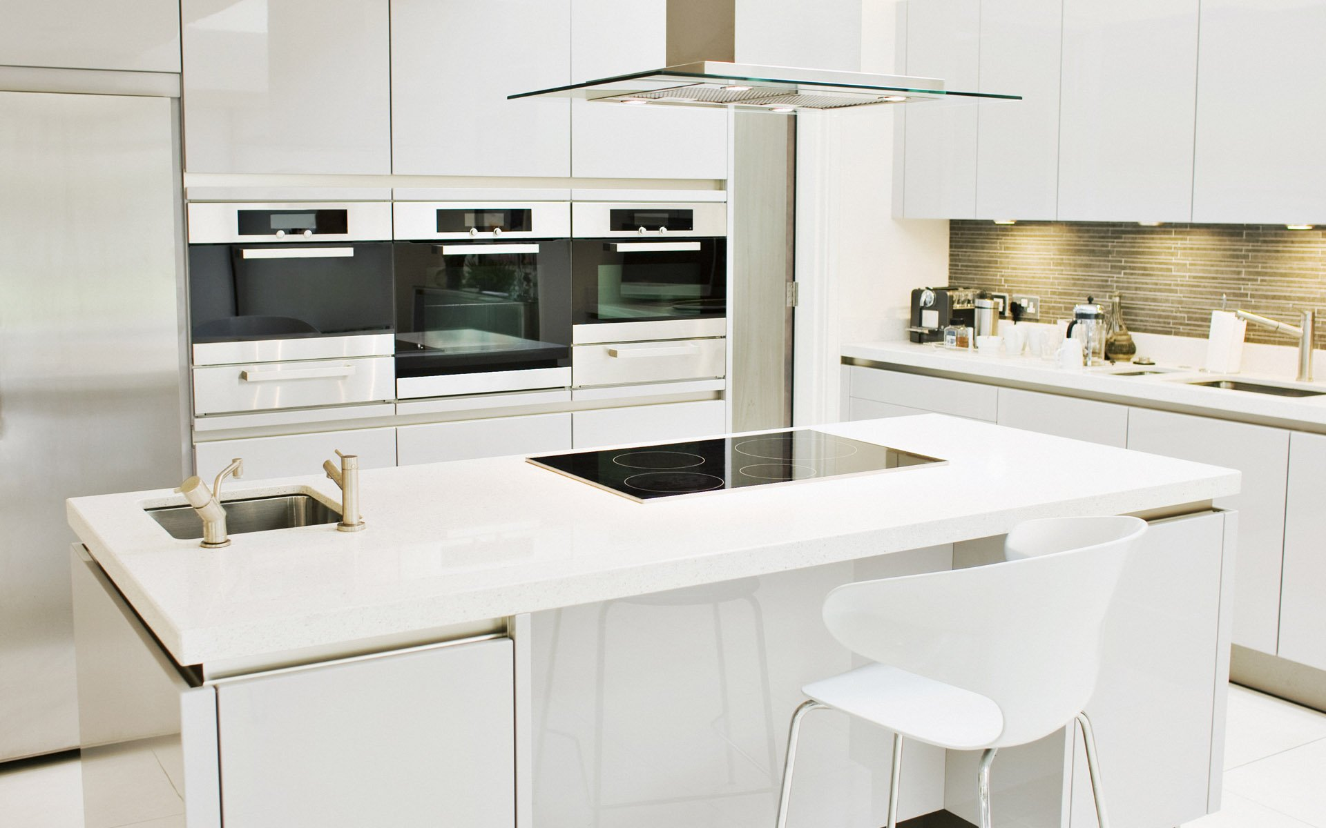 White High Gloss Kitchens Houzz. houzz white kitchens high gloss ...