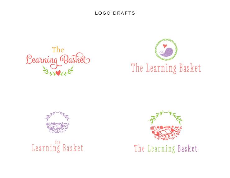 LOGO-DRAFTS-FOR-LEARNINGBASKET