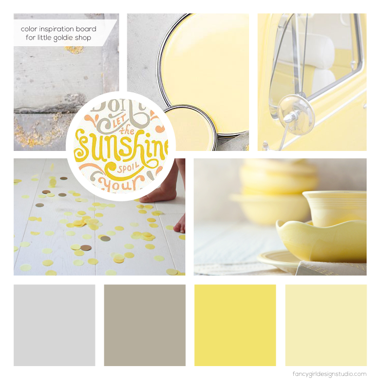 littlegoldie-colorboard
