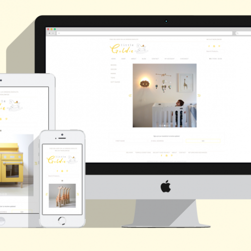 Featured Project: Little Goldie Shop