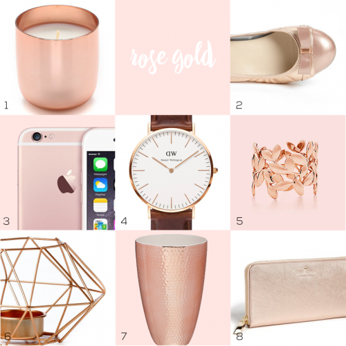 Design Trend: Rose Gold