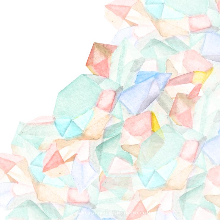 Gemstones in Pantone 2016 Colors
