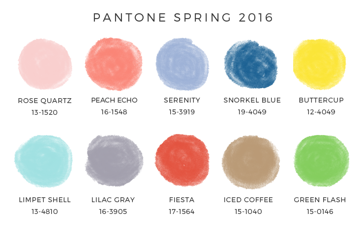 The Top 10 Colors for Next Spring!