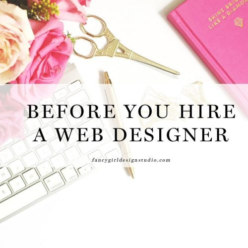Before You Hire a Web Designer