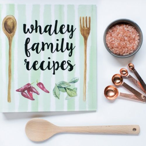 Personalized Recipe Binders!
