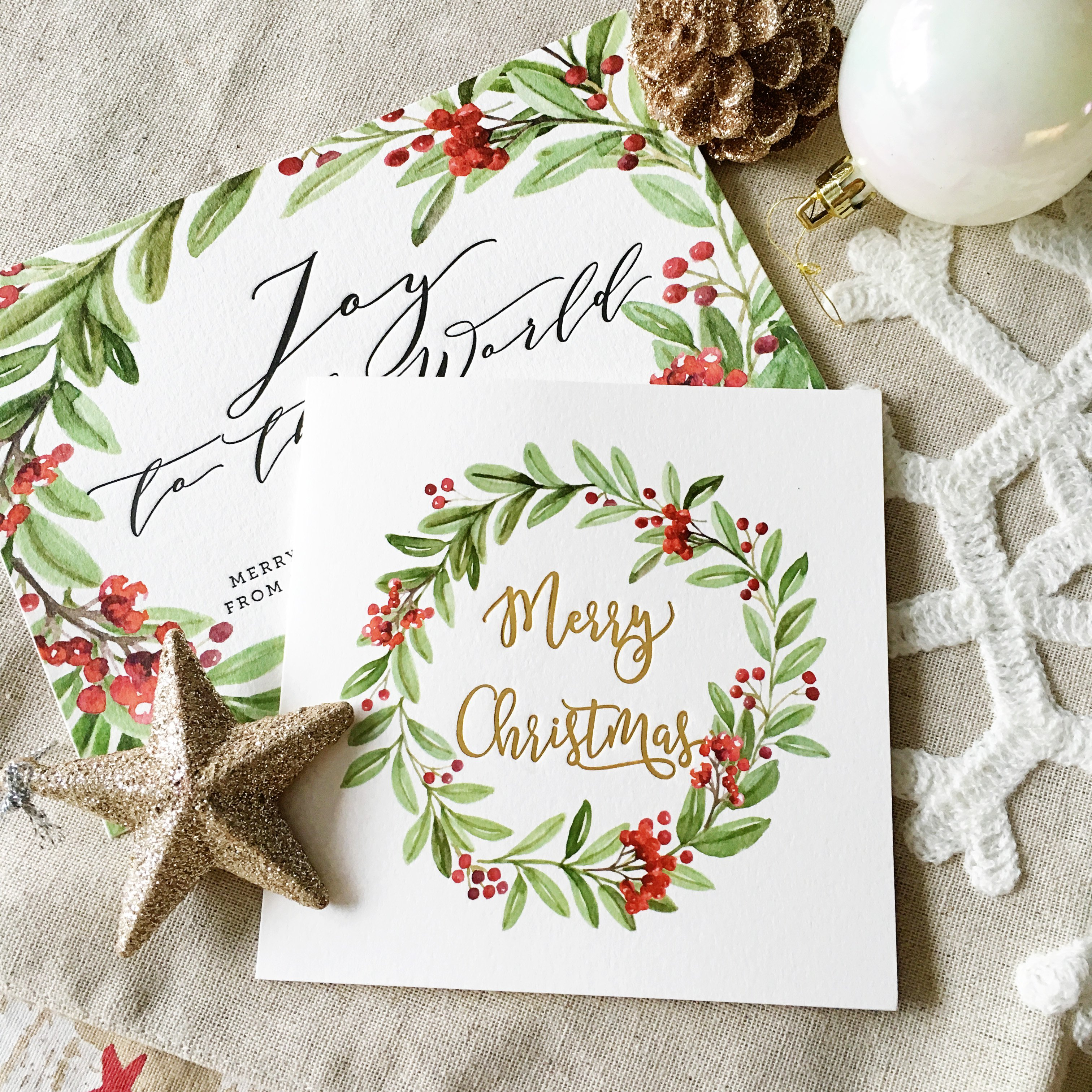our christmas cards - Fancy Christmas Cards