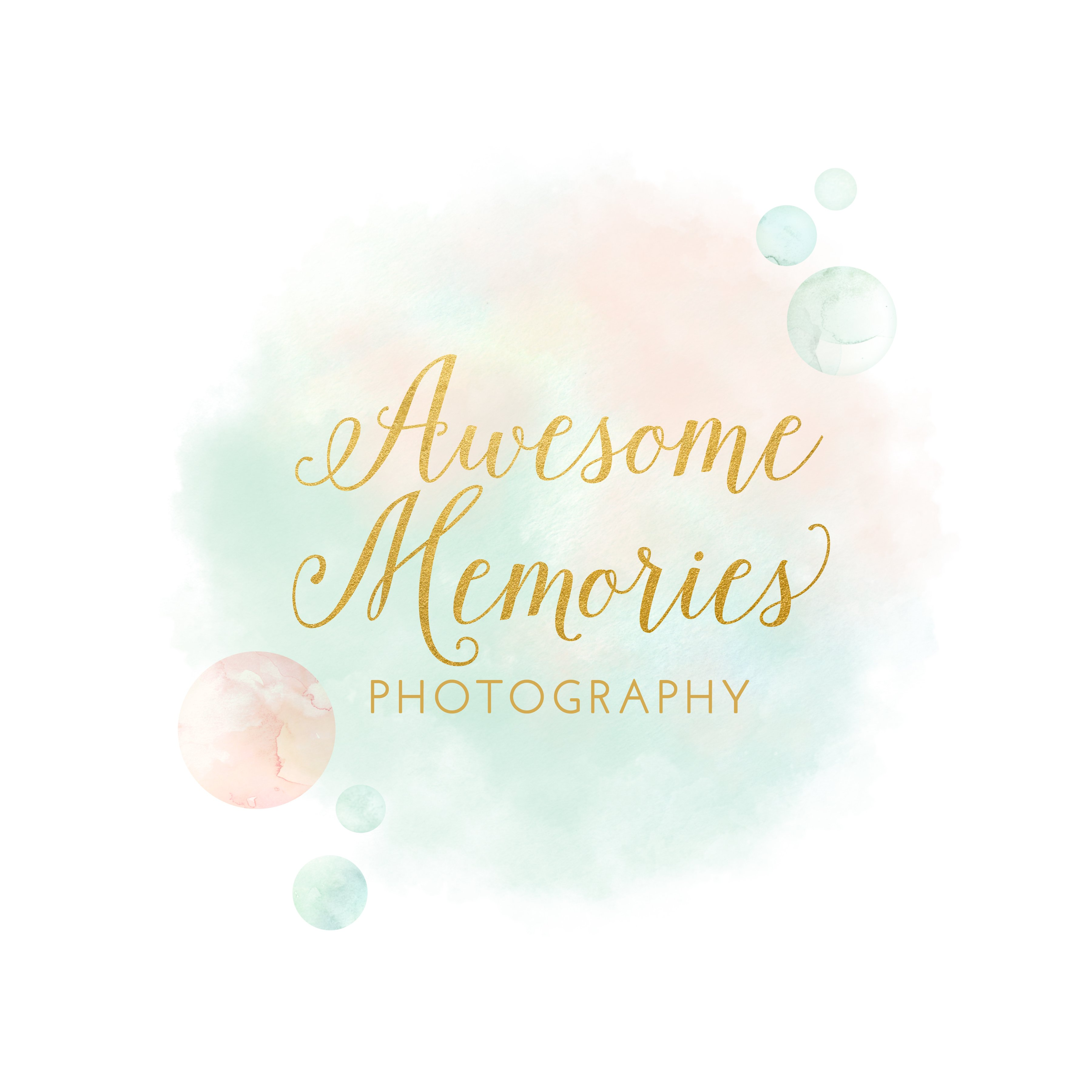 Awesome Memories Full Logo