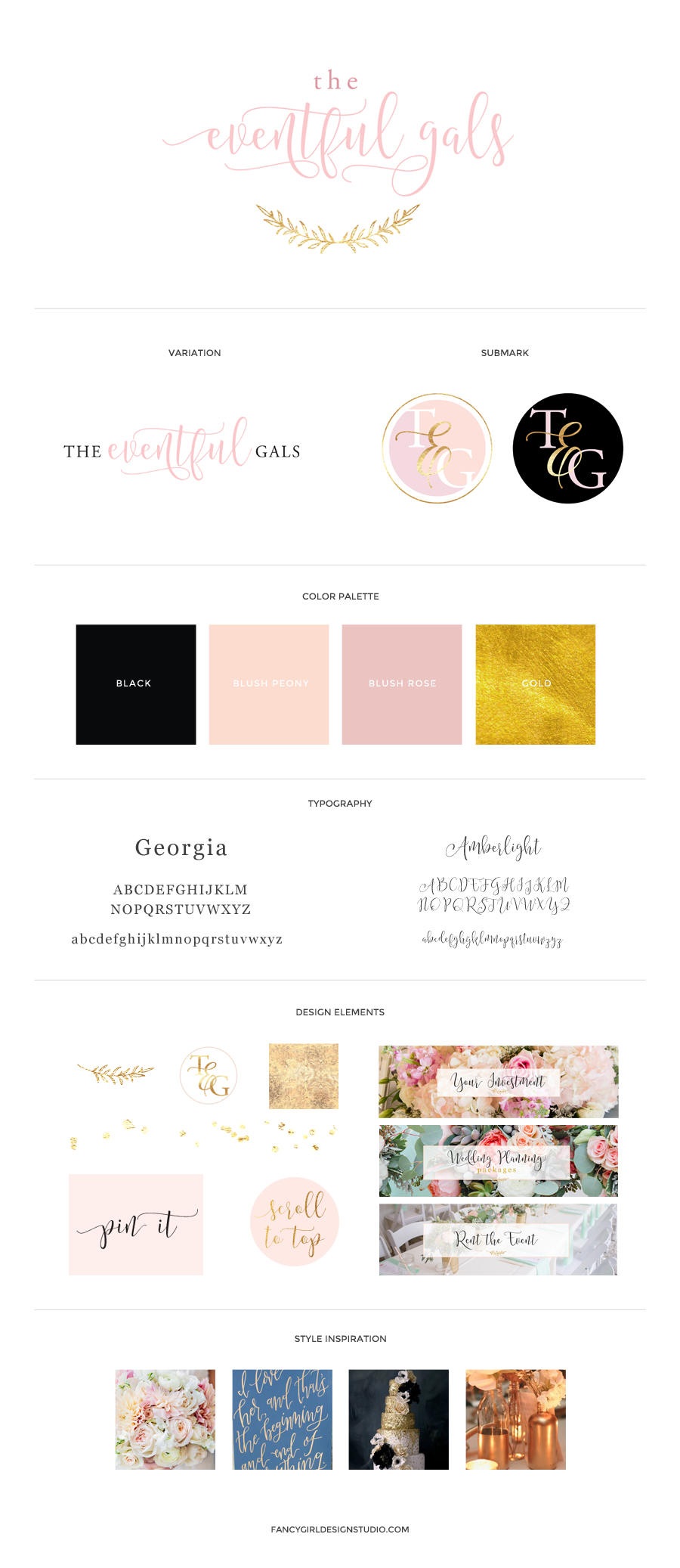 The Eventful Gals Brand Identity Guide