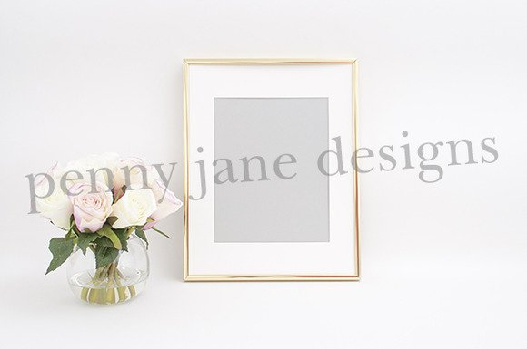 gold-frame-with-pink-and-white-roses-2-f