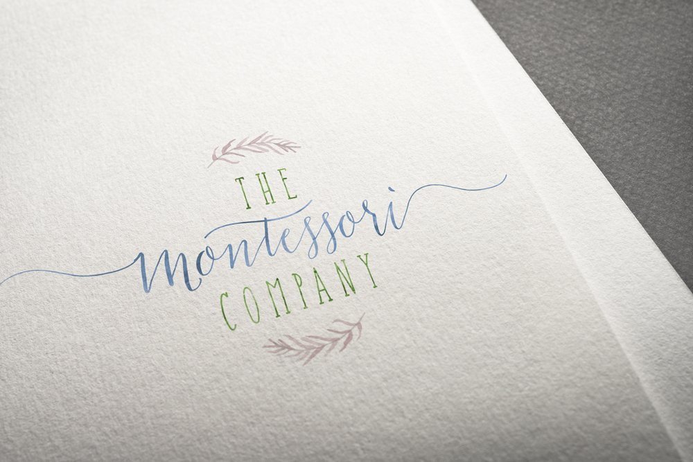 The Montessori Company Primary Logo - designed by Fancy Girl Design Studio
