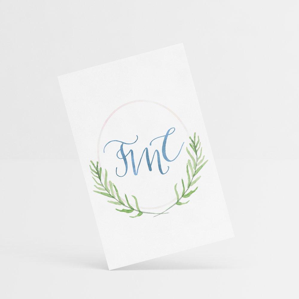 The Montessori Company Submark - designed by Fancy Girl Design Studio