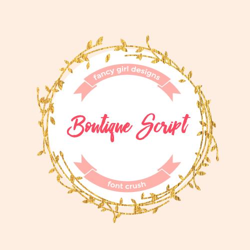 Font Crush – Boutique Script