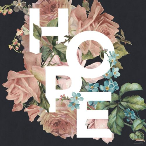 Hope – a floral typography project