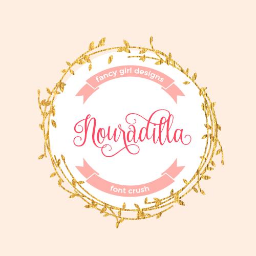 Font Crush: Nouradilla