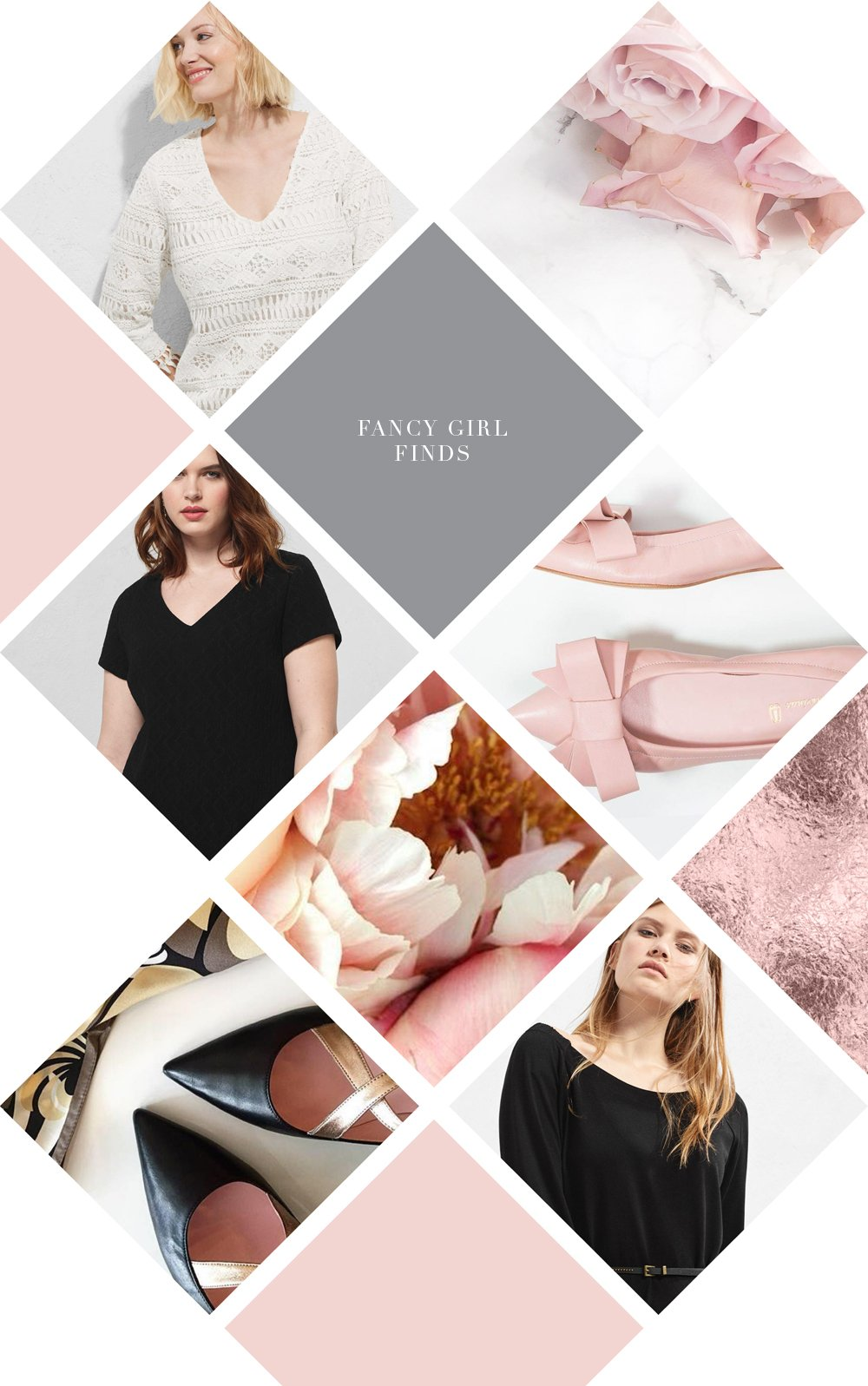 Shopping picks from Mango and Pretty Ballerinas. By Fancy Girl